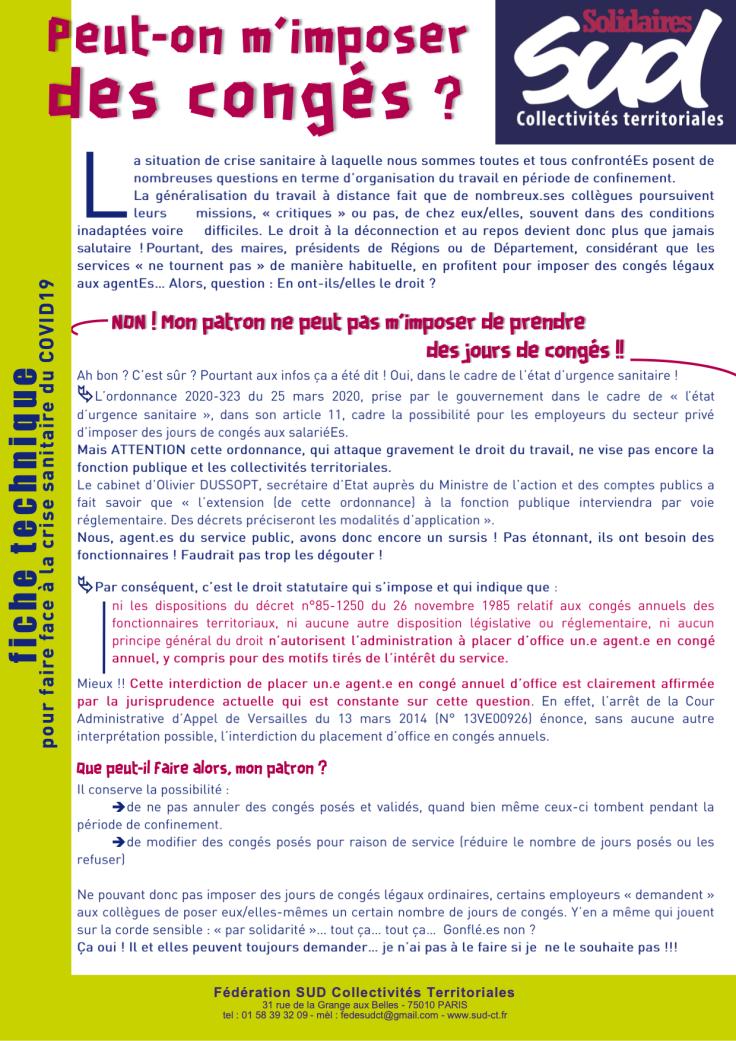 Nantes Habitat Congés RTT